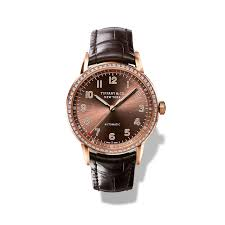 tiffany watches the new ct60 collection seeks inspiration from tiffany ct60 42mm rose gold mens watch zoom