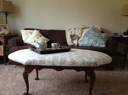 upholstered coffee table diy design