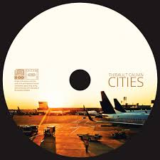 Cities - cd cover design by ROHH, cd label