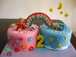 Twin Cake Cakes Twin Birthday Cakes Twins Cake Birthday Cake Girls