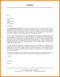 Sample Cover Letter Word Doc Good Resume Format In Cover Letter