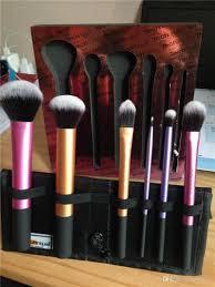 2016 new makeup real tech brush set 6 pcs brushes loose powder brush liquid foundation make up brushes eyeshadow brushes 12 sets
