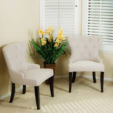 alexia accent chair set of 2 modern living room