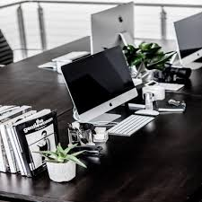 Inspiration office furniture Chic Stylish Minimalist Home Office As Though Theundone Office Desk Mac Plants Minimal Home Decor Cool 2018 Inspiration Home Design Stylish Minimalist Home Office As Though
