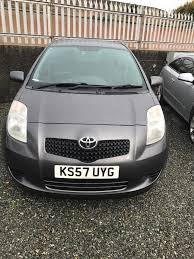 2008 Toyota Yaris Diesel. Ideal first time car. 63 mpg | in Newry ...