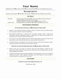Skill For Resume New Skill Set Resume Examples Unique Awesome Resume