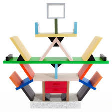 memphis furniture design. postmodern design carlton bookcase by ettore sottsass memphis furniture