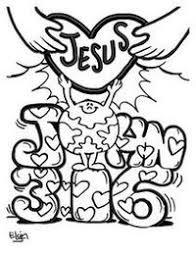 Posts Similar To John 316 Jesus Loves Me Coloring Page Juxtapost