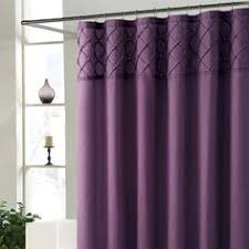 Essential Living Ruffle Purple Shower Curtain Walmartcom for the