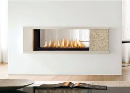 Image Linear Eye Catching Double Sided Gas Fireplace Closed Hearth With In Electric Wingsberthouse Eye Catching Double Sided Gas Fireplace Closed Hearth With In