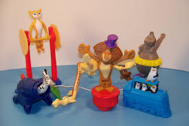 Madagascar happy meal toys