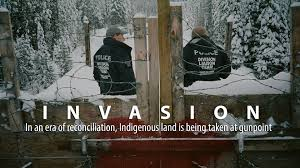 Canada indigenous land resource extraction fascism accountability corruption military police violence politics sovereignty