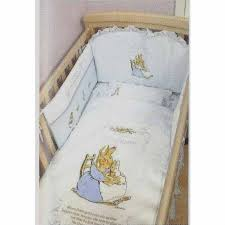 peter rabbit bedding set blue baby by