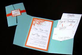 orange and turquoise wedding invitations. wedding invitations (blue + orange) | by jonathan vo orange and turquoise