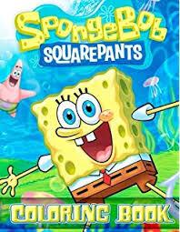 sponge bob squarepants coloring book great 30 ilrations for kids