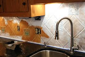 Painting Tiles In The Kitchen Hand Painted Tiles Kitchen Backsplash Superb 8875 Home Design