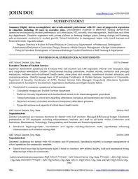 School Administration Resume Writing Service Ihireschooladministrators