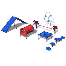 ultra play 6 activity interate dog park agility course kit