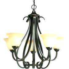 portfolio 5 light chandelier bronze progress lighting chand