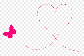 kids valentines day background. Butterfly Heart Trail Clipart Icon Png Valentines Day Background For Kids Intended