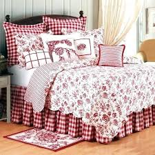 red toile quilt purple duvet cover red bedding sets good cranberry by comforters comforter duvets bedspread red toile quilt