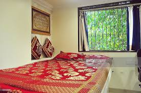 A General View Of One Of The Bedrooms At A Luxury Slum House In Dharavi,