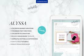 Facebook Page Canva Templates Website Mini Speaks Give