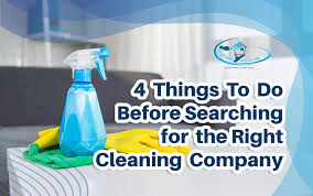 household cleaning companies 4 things to do before searching for the right cleaning