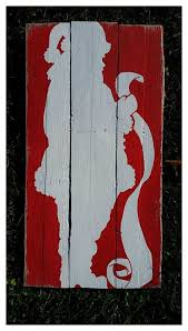 pallet painting ideas christmas. santa claus pallet sign/ checking his by primitivepaintings - diy project idea painting ideas christmas t