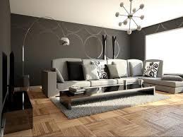 living room astounding gray living room wooden floor white ceiling black painted wall grey sofa