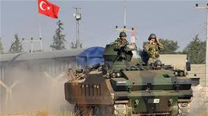 Image result for Turkish military in Syria in 2017