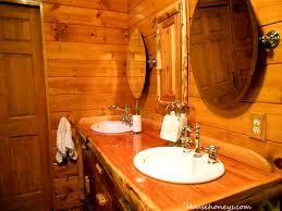 Log Cabin Bathroom Decor Lodge Bathroom Decorating Ideas