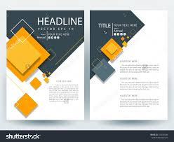 White Brochure Abstract Vector Modern Flyers Brochure Annual Report Design