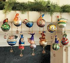 12 days of mercury ornaments set of 12