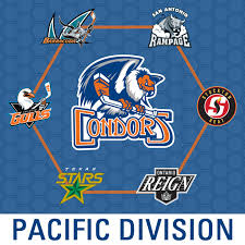 as announced by the ahl today the condors will be part of the new 7 team pacific