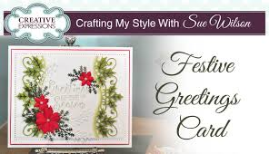 Photo Christmas Card Traditional Christmas Card With Holly Crafting My Style With Sue