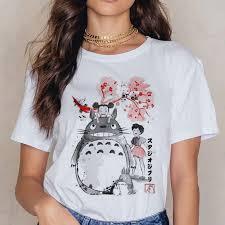 Totoro Studio Ghibli <b>T Shirt Women</b> Harajuku Ullzang <b>T Shirt</b> ...