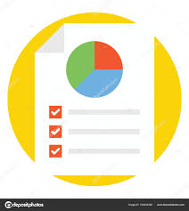 Pie Chart Analysis Proportional Percentage Data Flat Icon