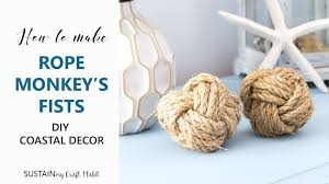 Rope Knot Light Pull How To Make A Monkey Fist Diy Sailor Knot Rope Ball Tutorial