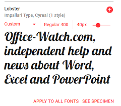Using Google Fonts For Free In Microsoft Office Office Watch