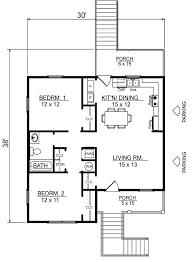 coastal southern house plan 96703 level one
