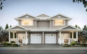 Duplex Designs For Narrow Blocks Duplex Designs Duplex Home Builders Rawson Homes