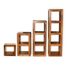 wooden cubes furniture. cube shelving units solid sheesham wood living room wooden cubes furniture