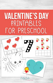 Emotions Chart For Kindergarten Valentine Day Printables For Preschool Valentines Red Colour