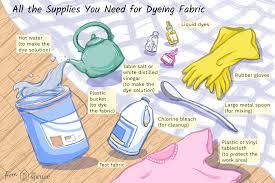 How To Use Liquid Fabric Dye Correctly