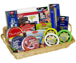 the ultimate drinker s delight gourmet gift basket and its contents