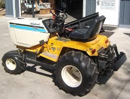 garden tractor info super cub cadet