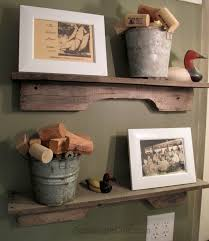 Shelves Made From Pallets Easiest Pallet Wood Project Ever Scavenger Chic