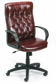 executive leather office chair. boss - high back traditional executive leather office chair