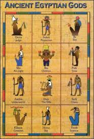 Ancient Egyptian Gods Chart I Need This Badly Ancient